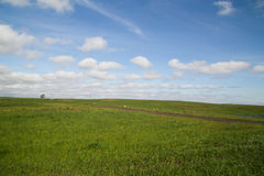Farm horizon Royalty Free Stock Images