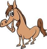 Farm horse cartoon illustration Stock Photography