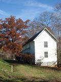 Farm house. A rural farm house in rural North Carolina Royalty Free Stock Image