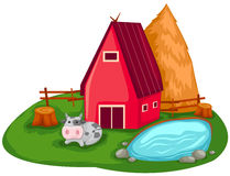Farm house Royalty Free Stock Photos