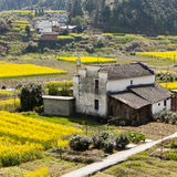 Farm house. It is a traditional farm house in jiangxi, China Royalty Free Stock Image