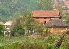 Farm house, central Nepal Royalty Free Stock Photography