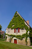 Farm house in France. Traditional house, found it in the farm of the Chenonceau Castle, Loire Valley, France Royalty Free Stock Image