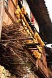 Farm house, harvest season. Farm house in Xijiang Ancient City, GuiZhou, China Royalty Free Stock Images