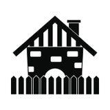 Farm house icon Stock Image