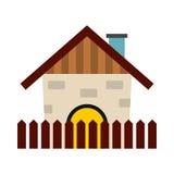 Farm house icon Royalty Free Stock Photo