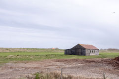 Farm house on the island of Texel Stock Images