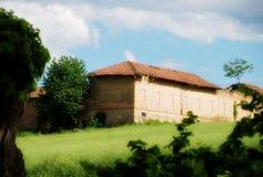 Farm house in italy Royalty Free Stock Photo