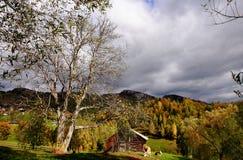 Farm house in Magura village. Farm house in the Magura village, Piatra Craiului National Park - Brasov city Royalty Free Stock Photo