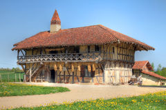 Farm House near Bourg-en-Bresse, France stock image