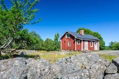 The farm house Royalty Free Stock Photo