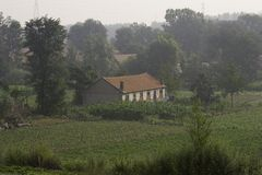 Farm house Royalty Free Stock Photo