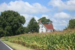 The Farm House Stock Image