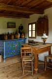 Farm house in southeast of Austria. The interior of a farm house in the southeast of Austria as it was used around 1850 Stock Images