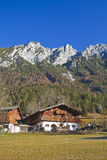 Farm house in Tyrol Royalty Free Stock Images