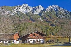 Farm house in Tyrol Stock Photography