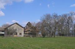 Farm Houses Stock Photography