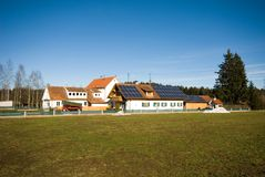 Farm Houses, Germany Stock Photos