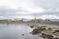 Farm houses Iceland Royalty Free Stock Images