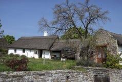 Farm houses at Lake Balaton Stock Photos