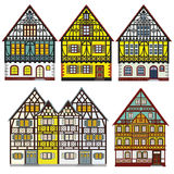 Farm houses in Old Europe Stock Photography