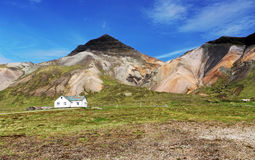 Farm in Iceland - snaefellsnes. At day royalty free stock photography
