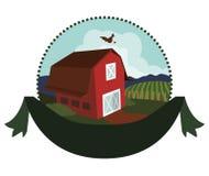 Farm icons design Stock Photography