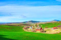 Farm in Idaho Stock Photography