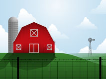 Farm illustration Stock Images