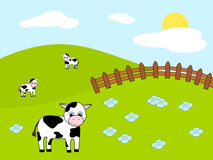 Farm illustration Royalty Free Stock Photos