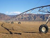 Farm Irrigation Royalty Free Stock Photo