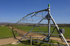 Farm irrigation equipment Stock Image