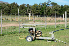 Farm irrigation system Royalty Free Stock Photo