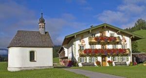 Farm in the Jachenau Royalty Free Stock Photo