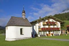 Farm in the Jachenau Royalty Free Stock Image