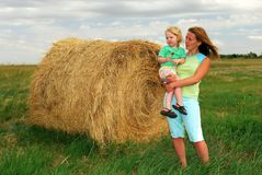 Farm Kids Royalty Free Stock Photos