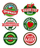 Farm Label. Farm Badge & Labels. EPS 10 file and large jpg included Royalty Free Stock Images