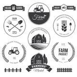 Farm labels 2 Stock Photography