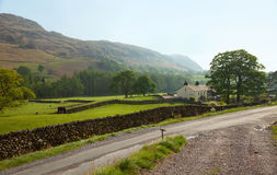 A farm  in the  Lake District National Park. Royalty Free Stock Photography
