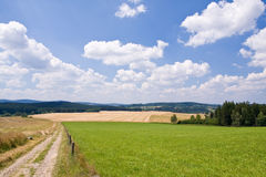 Farm land Royalty Free Stock Photos