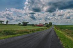 Farm Land. Found in Washington County, WI Stock Photo