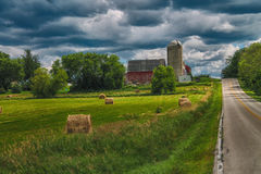 Farm Land. Found in Washington County, WI Stock Photography