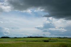 Farm land north of Churchbridge, Eastern Saskatchewan, Canada. Farm land north of Churchbridge, Eastern Saskatchewan, Canada stock photography