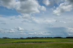 Farm land north of Churchbridge, Eastern Saskatchewan, Canada. Farm land north of Churchbridge, Eastern Saskatchewan, Canada stock image