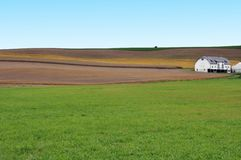Farm land in Pennsylvania Stock Photo