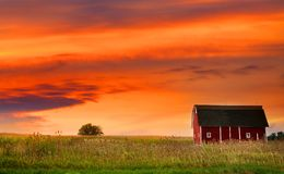 Farm Landscape Stock Photos