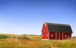 Farm Landscape Stock Photo