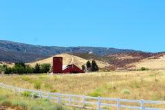 Farm landscape Royalty Free Stock Photos