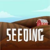 Farm Landscape Royalty Free Stock Images