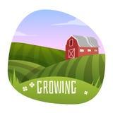 Farm Landscape Stock Images